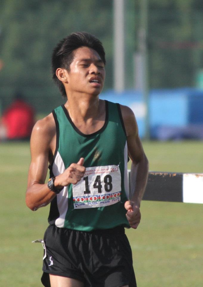 """You should join cross country because you can get fit for NAPFA and push yourself to the limit, which can be satisfying."" – Captain Bryan Yong (13S07A)"
