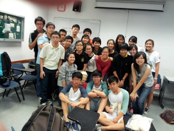 The CCA at the Red Cross Training Centre, with 100% passes for the First-Aid examination
