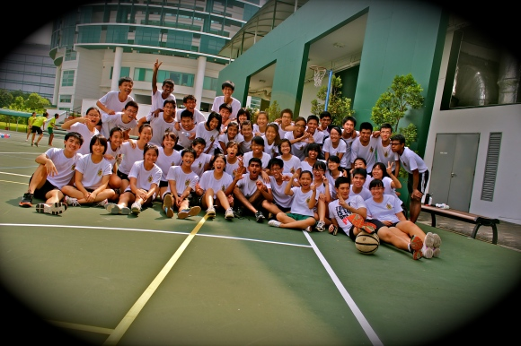 The Council after a fun day at inter-batch games