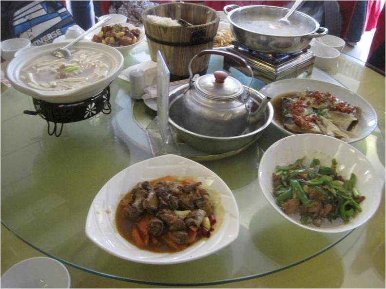 Typical cuisine in Hunan