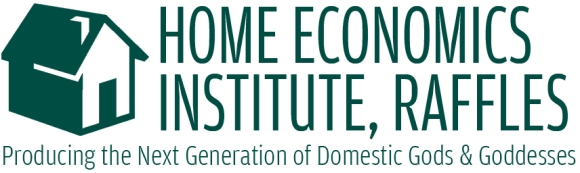 The new logo for the Home Economics Institute, Raffles