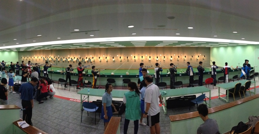 the rifle shooting field