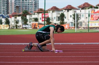 4x400 A Girls relay