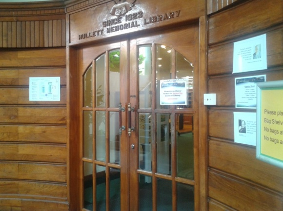 The Hullett Memorial Liberary (HML)