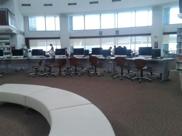 Sssh - Don't you feel the urge to study overwhelming you once you step into the library?