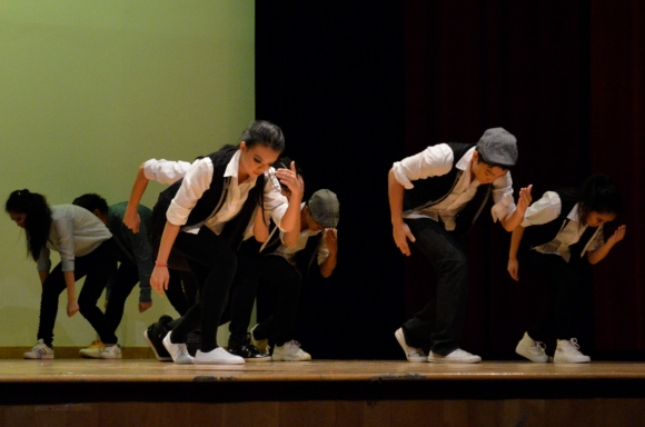 The dances showcased the dancers effort practicing their routines and were very synchronised.