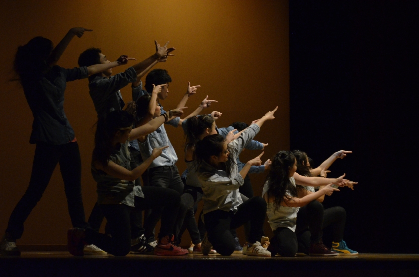 Street Dance put up a colorful and entertaining performance in ABCD.