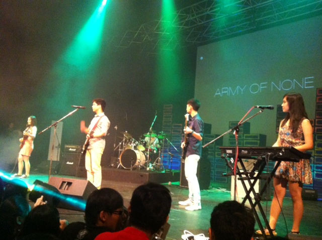 Army of None opens the show with a bang!