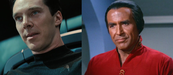 Cumberbatch's Khan (2013) vs. Montalbán's Khan (1982)