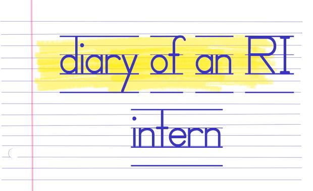 Writing intern