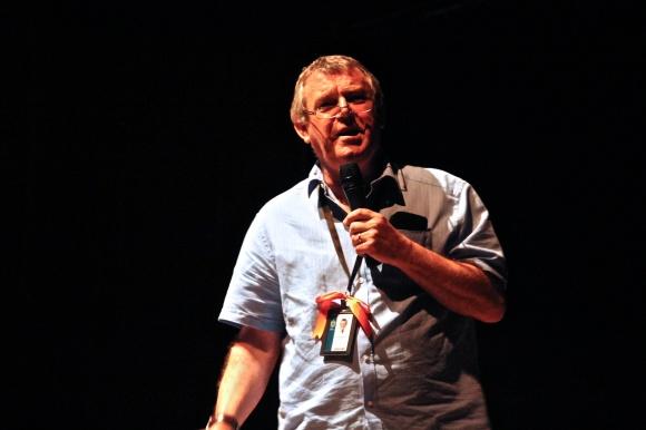 Mr Purvis at Lit Night 2013