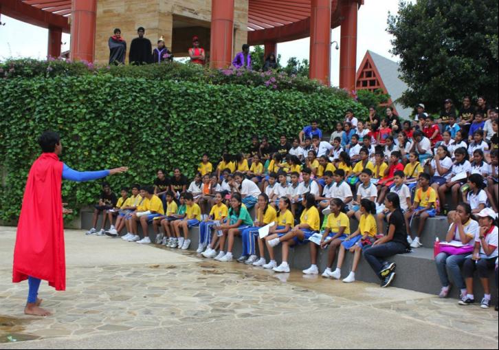 Kids & Student Facilitators at Value-O-City Amazing Race