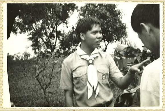 Mr Chan as a Boy Scout