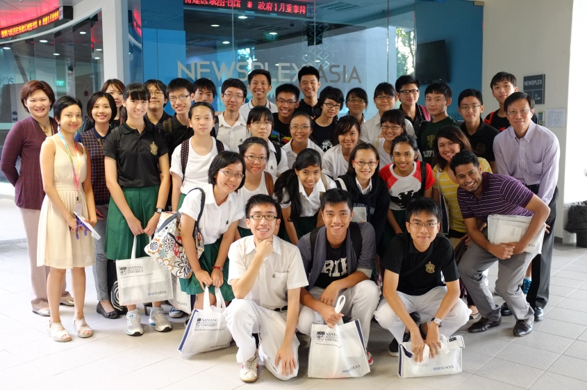 Field Trip to NTU Newsplex