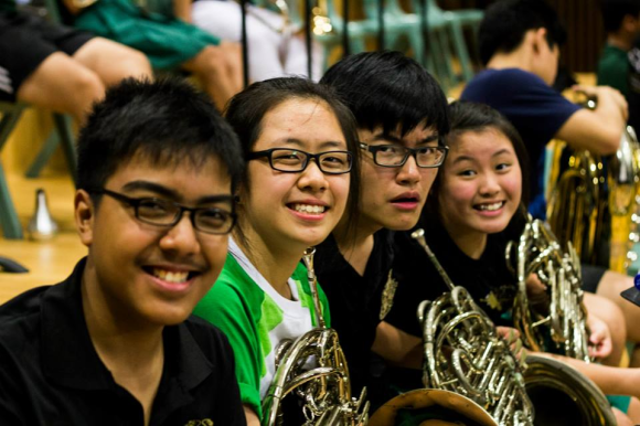 RSB's vivacious French Horn Section