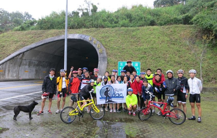ODAC'29 cycling, Taiwan, December Expedition