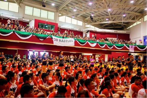 Photo Credits: Raffles Institution Year 5 - 6 Orientation 2014 Facebook Page