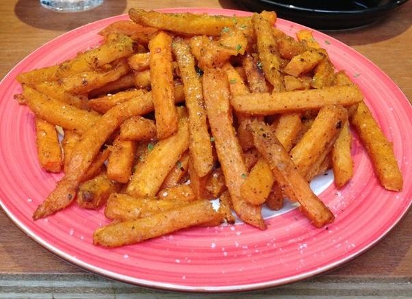 Sweet Potato Fries ($7)