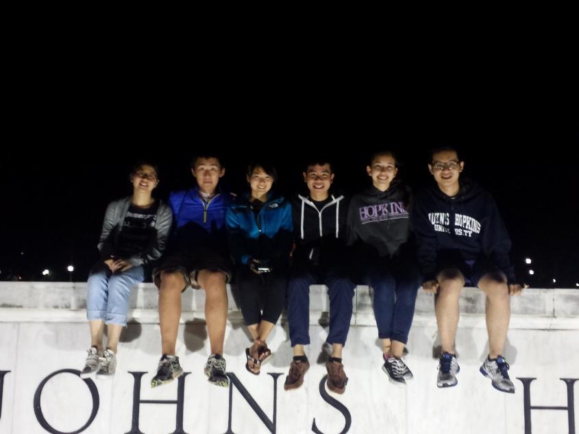 Tommy at John Hopkins