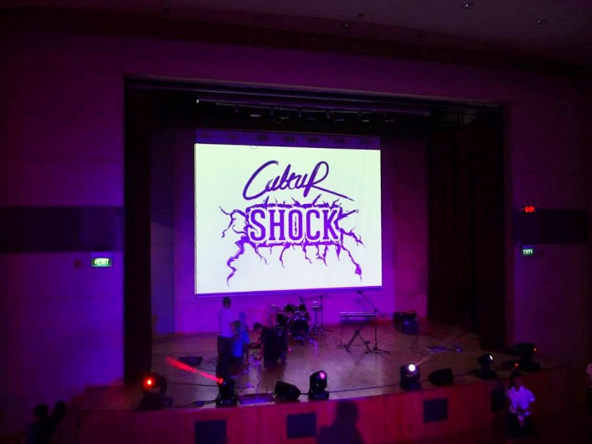 CultuR Shock': launch concert for the CultuR web portal, attended by a 200-strong audience.