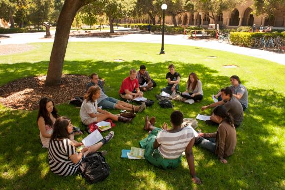 Apparently an accurate depiction of Stanford students