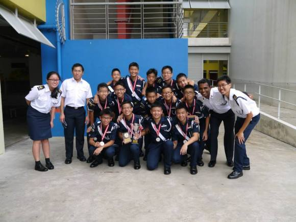 Primer drill trainers at Drill Competition