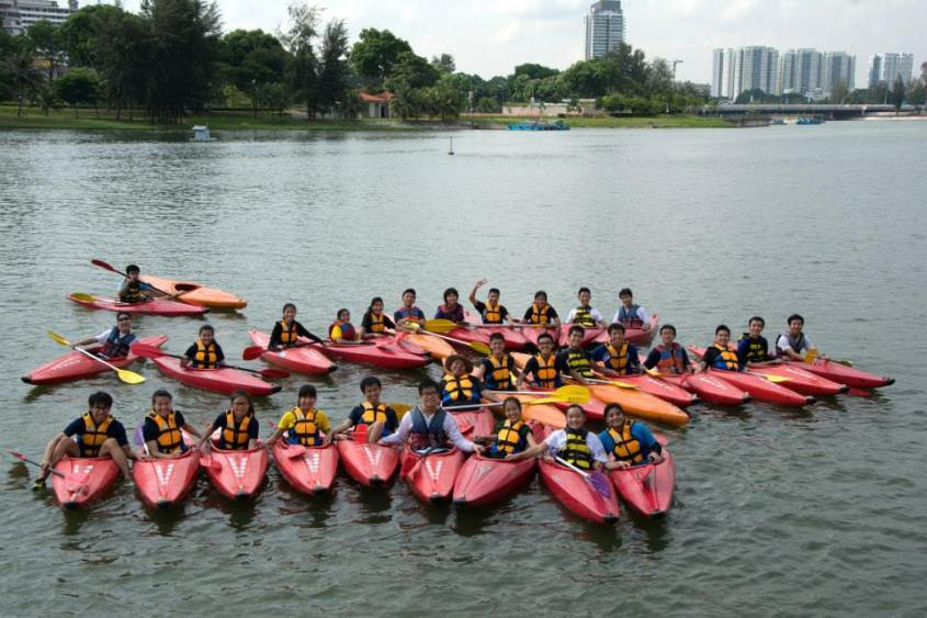 ODAC 29 & ODAC 30 Kayaking at Kallang River