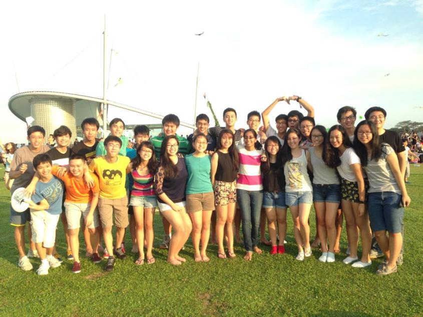 Picnic at Marina Barrage! (Credits to Nicolette Foo)