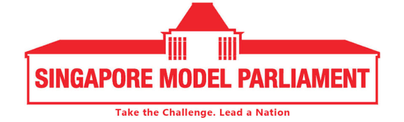 Official banner of the Singapore Model Parliament organisation.