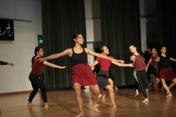 Year 5 batch performing at Teachers' Day 2014.
