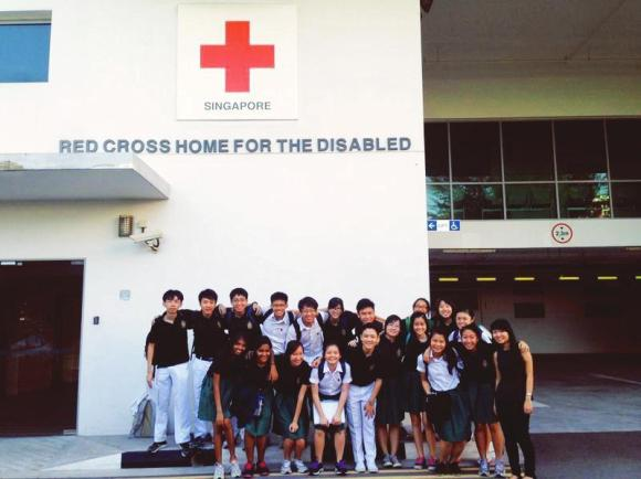 A visit to the Red Cross Home for the Disabled