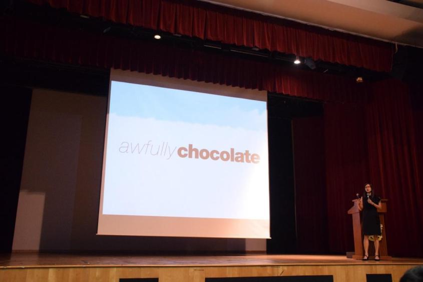 Sharing by Ms. Lyn Lee, Founder of Awfully Chocolate, at RBS 2014