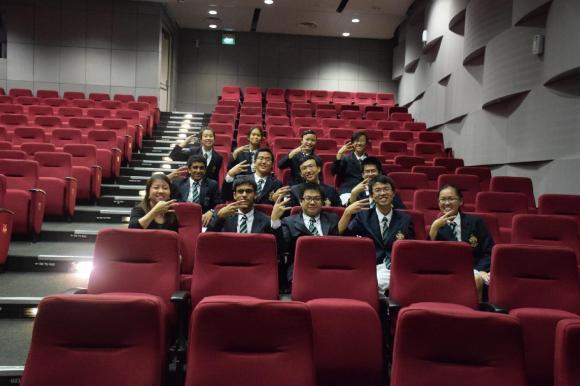Teacher I/C Ms. Stacy Tan with REN members post-RBS 2014