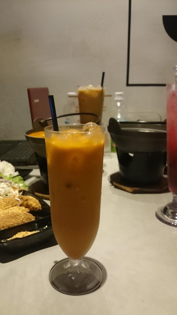 Thai Coffee Iced