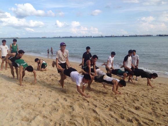 Beach Training at East Coast Park