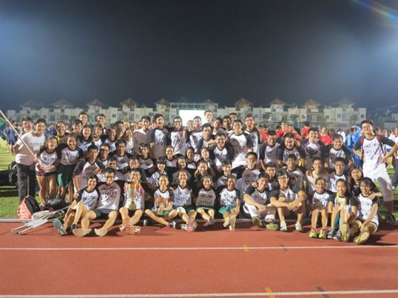 The RJTrack family at the National Inter-school Track and Field Championships 2014