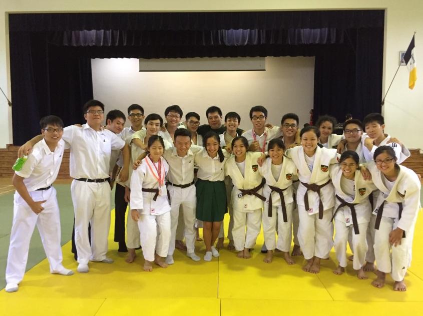 Raffles Institution Judo 'A' Division Team