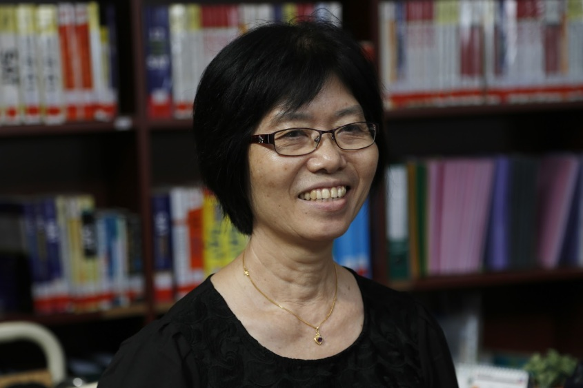Ms Tan has been here for 6 years, and takes charge of finances, invoices and physical processing.