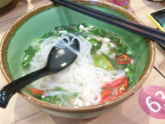 A bowl of Pho Chicken for $8.90.