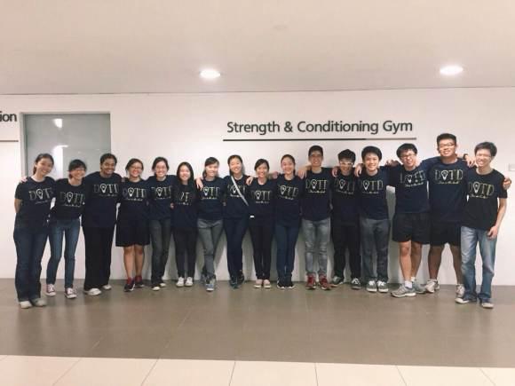 The J2 Organizing Team at DITD! (Not pictured: Abraham Lee, Gabrielle Ong, Goh Yiling, Joyce Lee, Kathleen Ng, Megan John, Nadia Nasuha, Nicholas Tan)