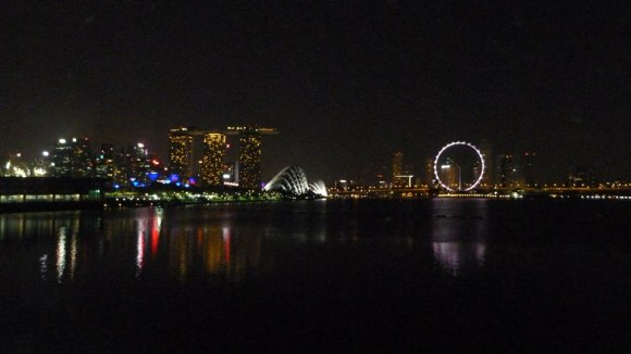 The stunning night cityscape greeted us at our final pitstop before the last leg to Gear Up 2015's finishing line.