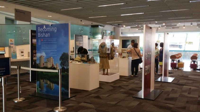 Becoming Bishan Exhbition now at Bishan Library.