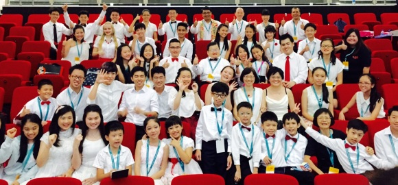 The Extended Family of 50 Pianists