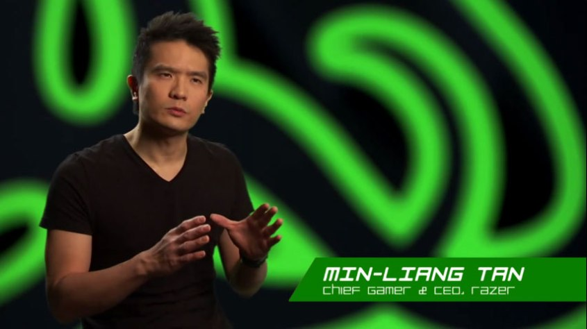Min-Liang Tan, CEO of Razer. ()