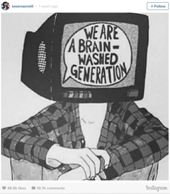 We're not a brainwashed generation, we simply have access to different platforms and resources.