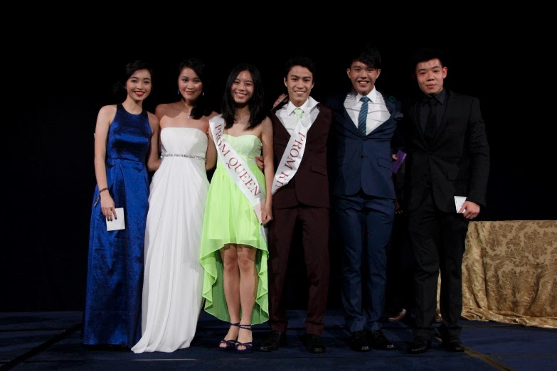 Our Prom King and Queen Nominees! (From left: Seah Ying Lin, Richelle Ang, Chan Mae Yee, Hiak Jun Jie, Damien Chong, Shant Sin.)