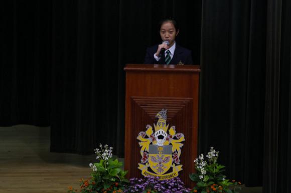 """Fun fact - 90 percent of speeches made in RI end with """"Auspicium Melioris Aevi"""""""