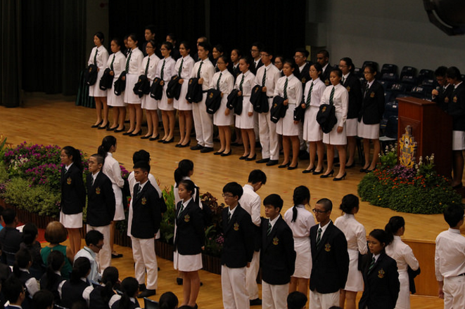 The Blazer Ceremony, which symbolised the passing on of responsibility from one batch to the next.