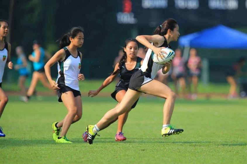 (Our truggers in action at Singapore Junior Touch Champs )