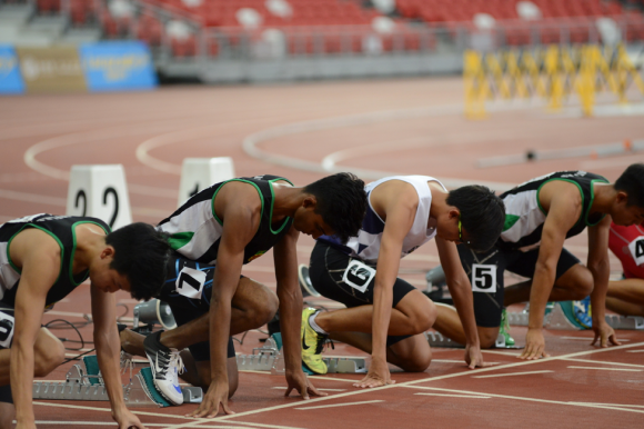 100m Finals - where months and years of hard work blaze the track in a few heart-stopping seconds